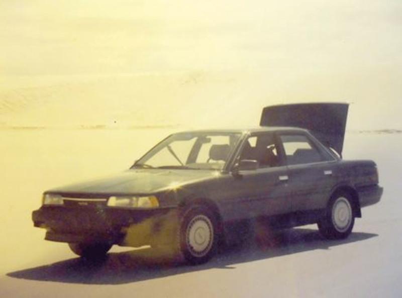 Το Toyota του Αμερικανού λοχία, στο πορτμπαγκάζ του οποίου κρύφθηκαν ο Σπίτσνερ και η κόρη του για να περάσουν το Τείχος του Βερολίνου τον Αύγουστο του 1989.
