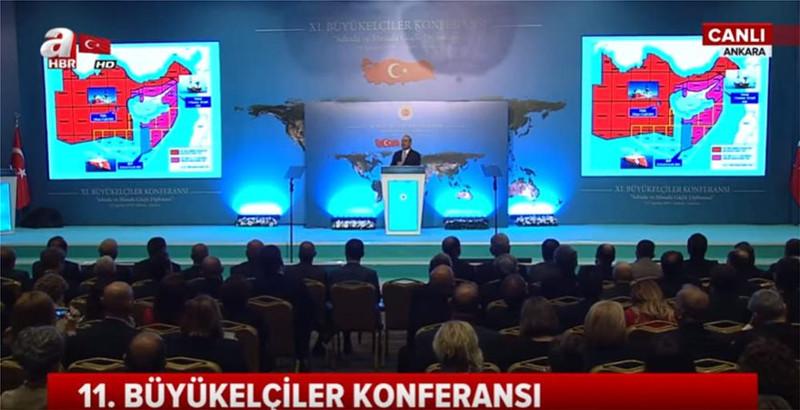 Μέχρι την Κρήτη θέλει την τουρκική ΑΟΖ η Αγκυρα