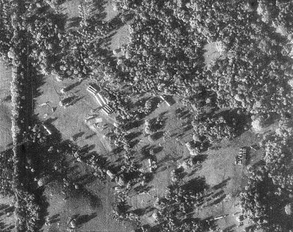 Φωτογραφία ρωσικών πυραύλων στο έδαφος της Κούβας, που τράβηξε αμερικανικό κατασκοπευτικό αεροσκάφος το 1962.