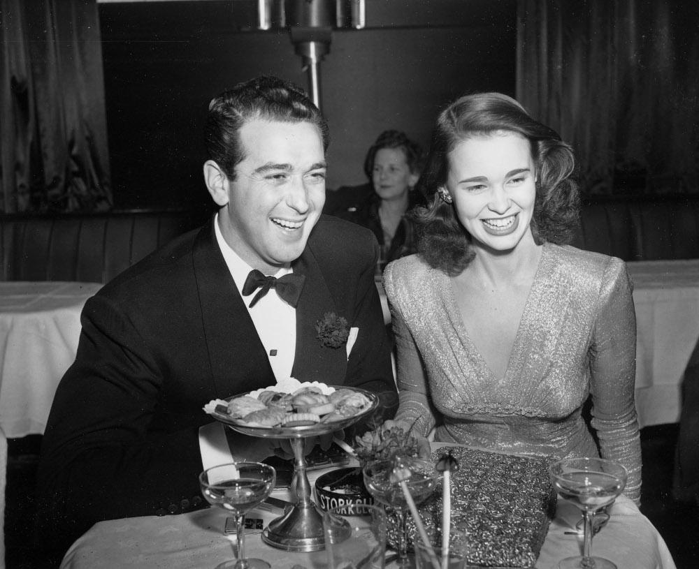 Η Βάντερμπιλτ με τον σύζυγό της Πατ ΝτιΤσίκο