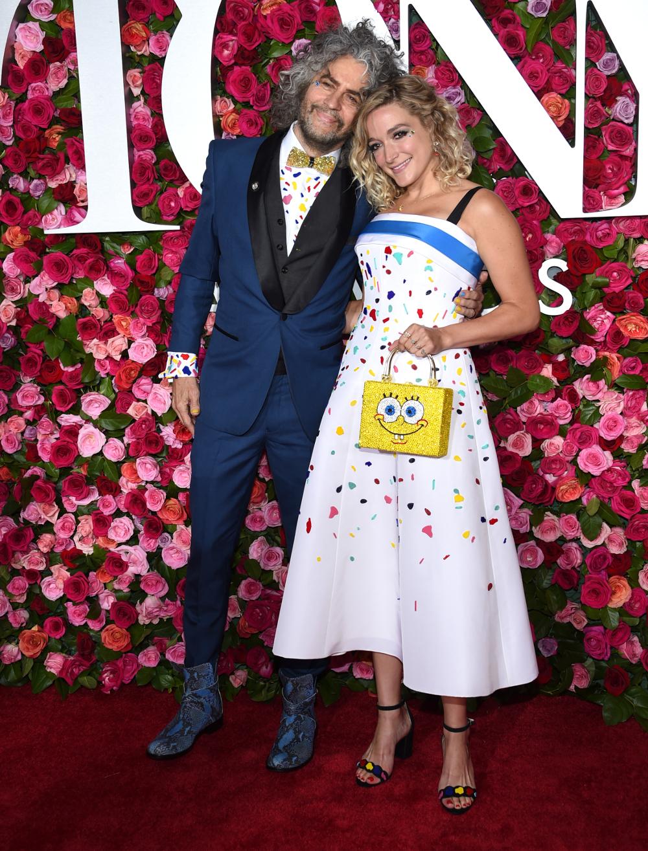 Ο τραγουδιστής Γουέιν Κόιν με την σύζυγό του