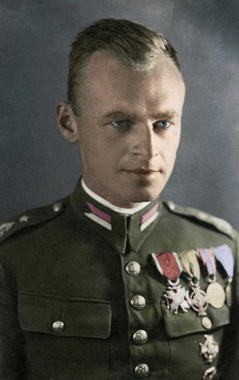 Ο Βίτολντ Πιλέτσκι το 1939, πριν ενταχθεί στην Πολωνική αντίσταση.
