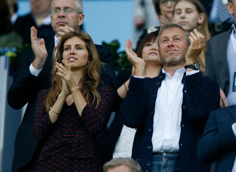 Η Ντάσα Ζούκοβα με τον πρώην σύζυγός της, Ρώσο δισεκατομμυριούχο, Ρομάν Αμπράμοβιτς