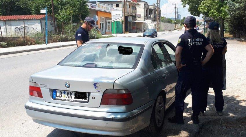 Παράνομα ένα στα 4 αυτοκίνητα με ξένες πινακίδες βρήκε η ΑΑΔΕ