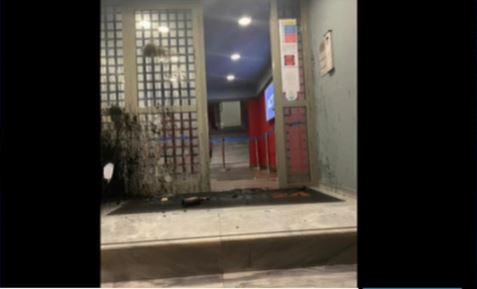 Επίθεση με μολότοφ στα γραφεία του Action 24 για τον Δημήτρη Κουφοντίνα [εικόνες]