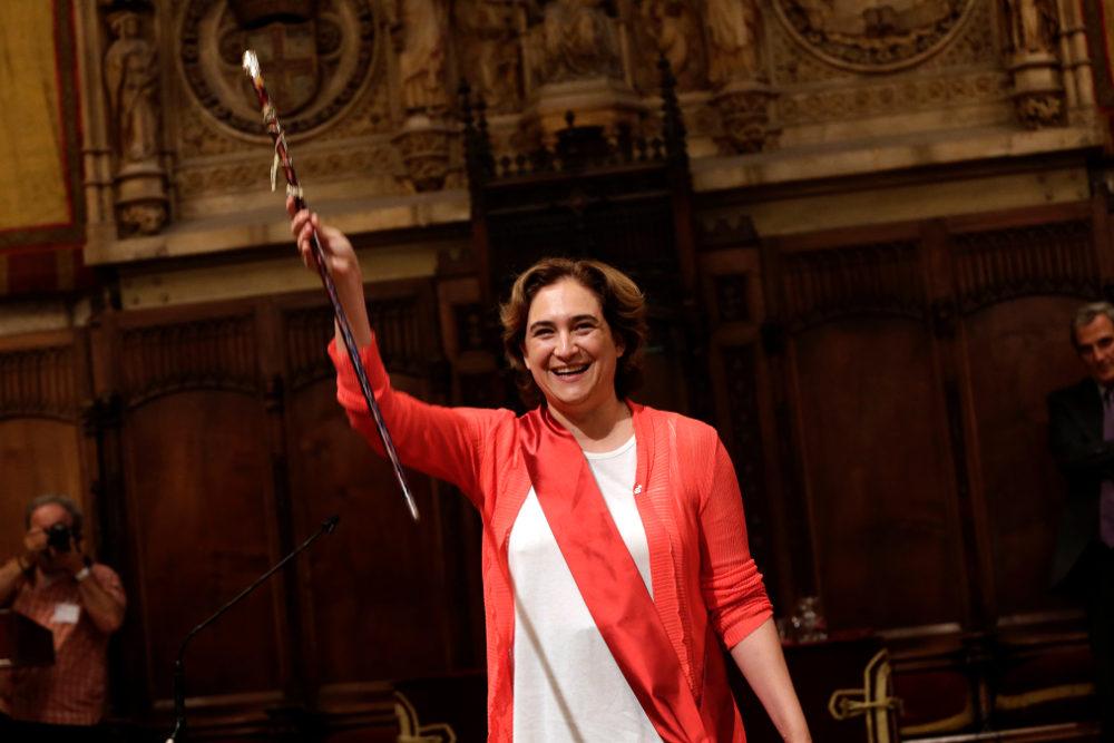 Η νεοεκλεγείσα Δήμαρχος Βαρκελώνης Αντα Κολάου