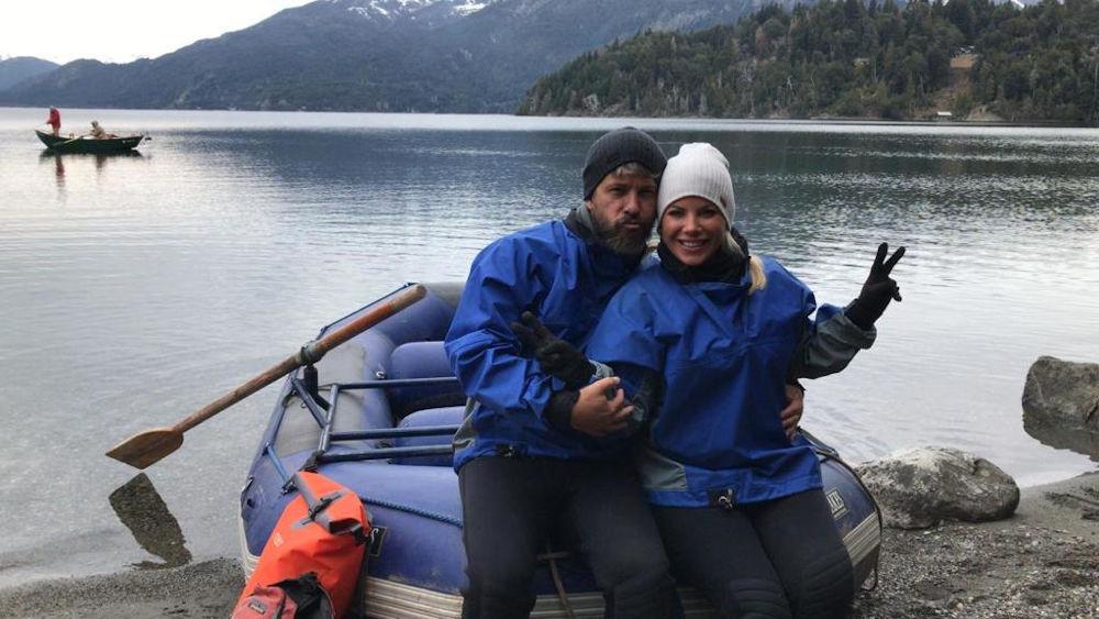 Χάρης και Αντελίνα κάνουν Καγιάκ στην Αργεντινή