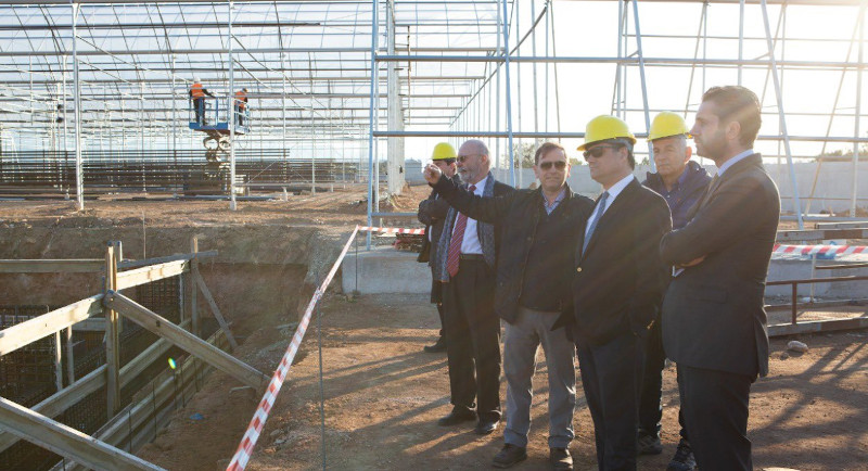 Ο υπουργός Ανάπτυξης και Επενδύσεων, Αδωνις Γεωργιάδης στα εγκαίνια της