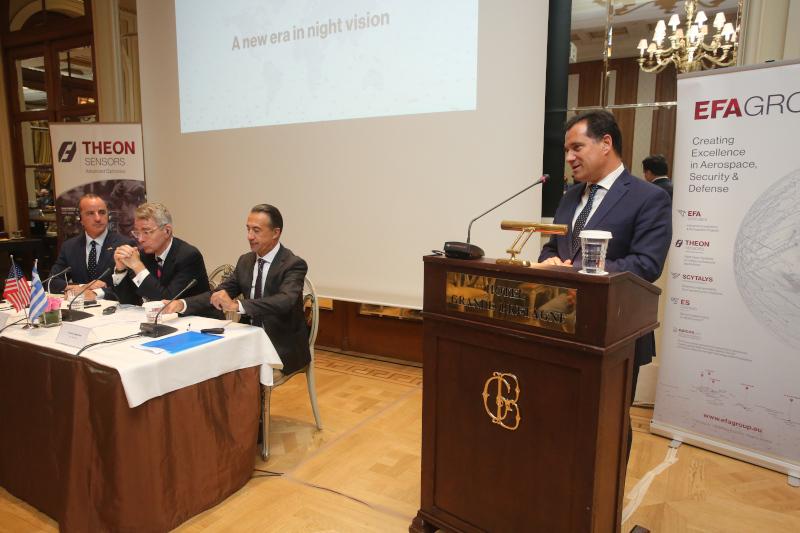 Ο υπουργός Ανάπτυξης και Επενδύσεων, Άδωνις Γεωργιάδης