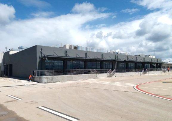 Κτίριο αεροδρομίου στο Ακτιο