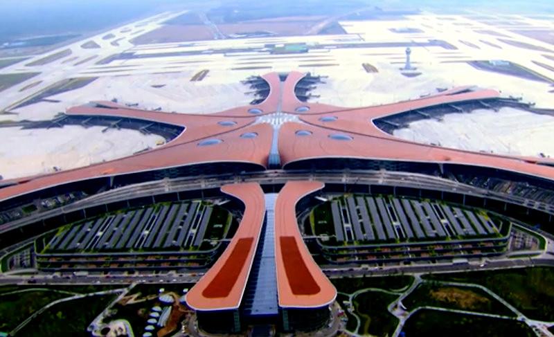 αεροδρομιο από ψηλα