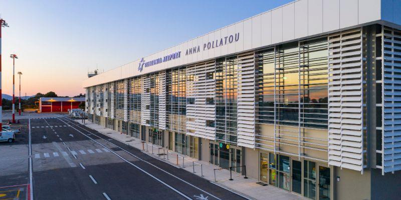 Το νέο αεροδρόμιο στο αεροδρόμιο της Κεφαλονιάς