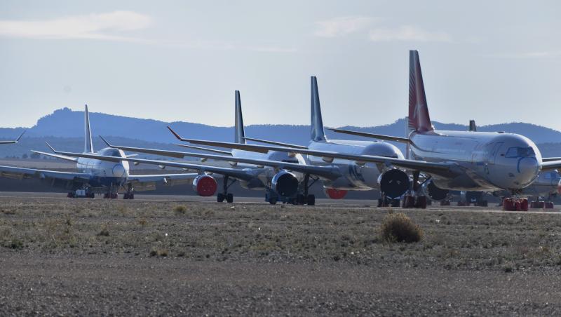 αεροσκάφη στο αεροδρόμιο Τερουέλ