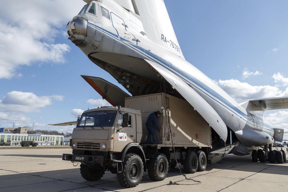 Ιατρική βοήθεια στέλνει η Ρωσία στην δοκιμαζόμενη από τον κορωνοϊό Ιταλία