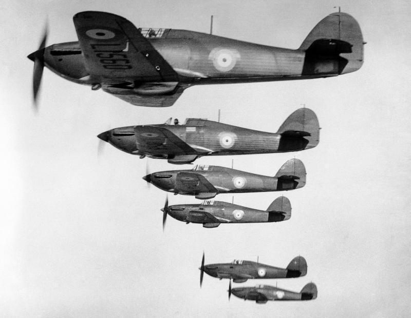 Βρετανικά αεροσκάφη Hurricanes