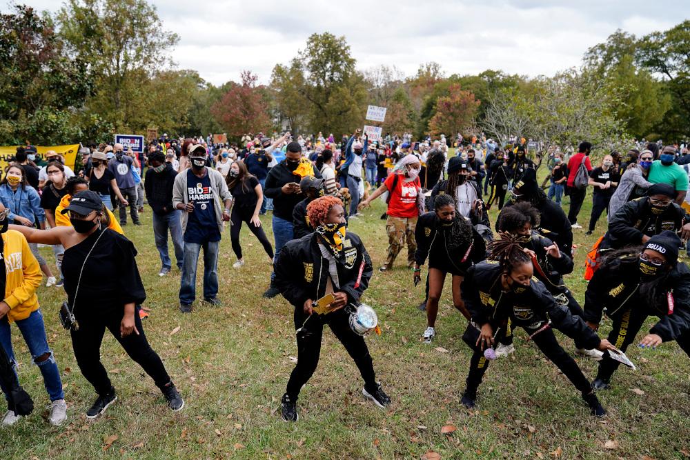 Χοροί αφροαμερικανών στην Ατλάντα