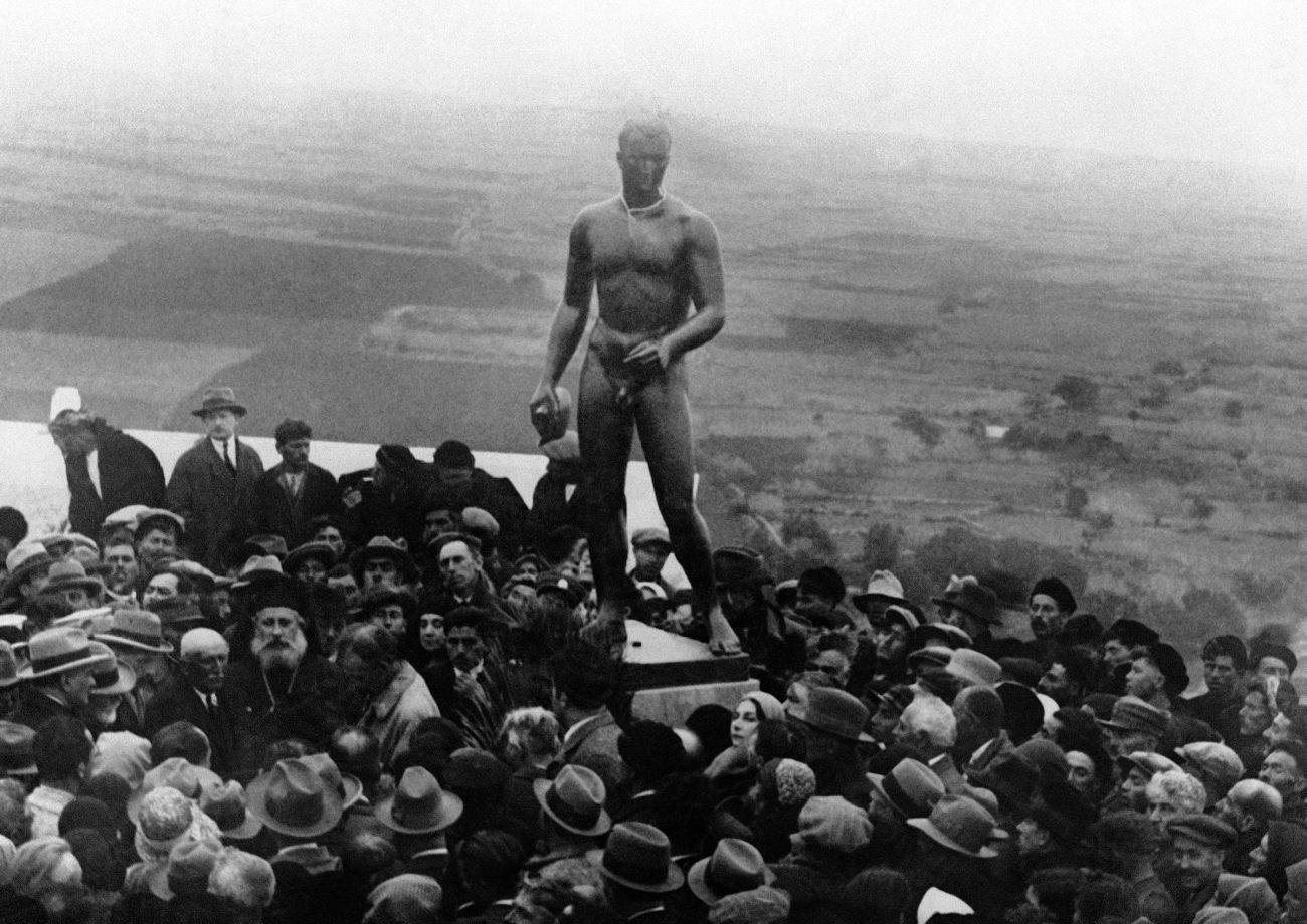 Αποκαλυπτήρια του αγάλματος στη Σκύρο το 1931