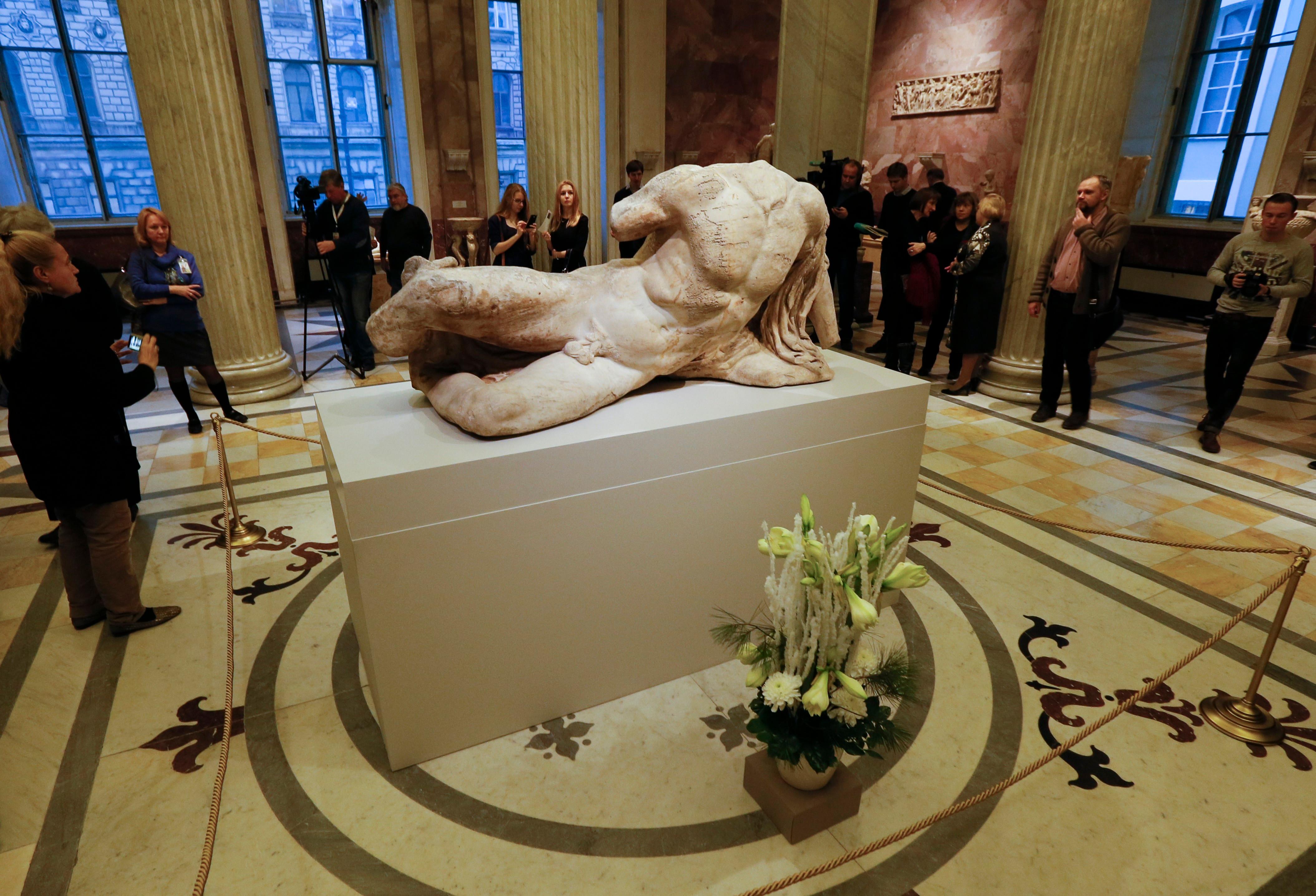 Το άγαλμα του Ιλισσού στο Ερμιτάζ