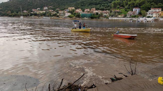 Πλημμύρες στην Κεφαλονιά