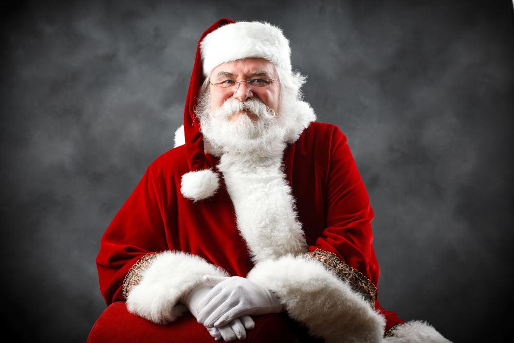 Ο Άγιος Βασίλης, όπως είναι εντυπωμένος στη συνείδηση όλων των παιδιών σήμερα