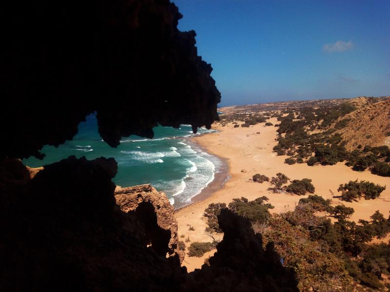 Παραλία Αγιάννη στη Γαύδο