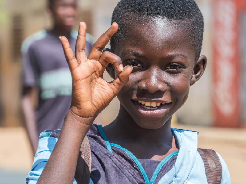 αγοράκια από τη Σενεγάλη