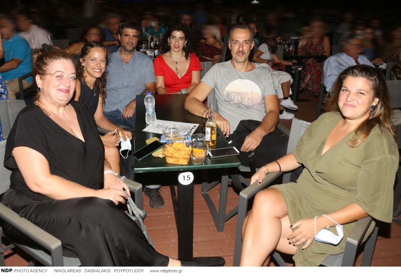 Μαρία Αντουλινάκη, την Ελλη Τρίγγου, τον Γιώργο Γάλλο και την Δανάη Λουκάκη, Χρήστος Πλαϊνης, Σταυρίνα Ψιμοπούλου