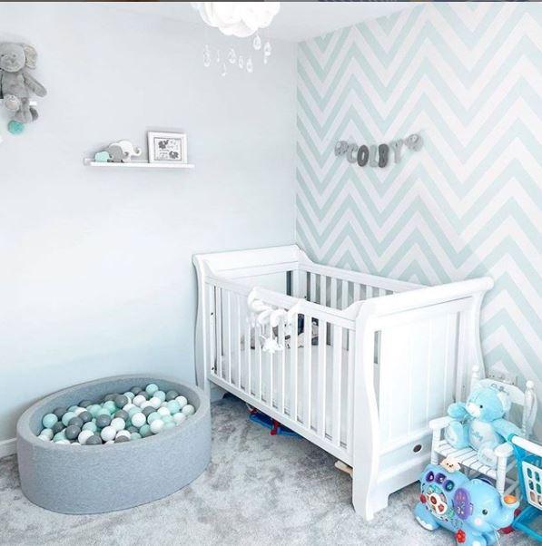 Θαλασσί παιδικό δωμάτιο
