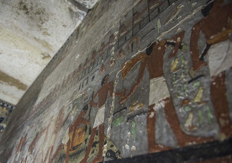 Μέσα σε αιγυπτιακό τάφο