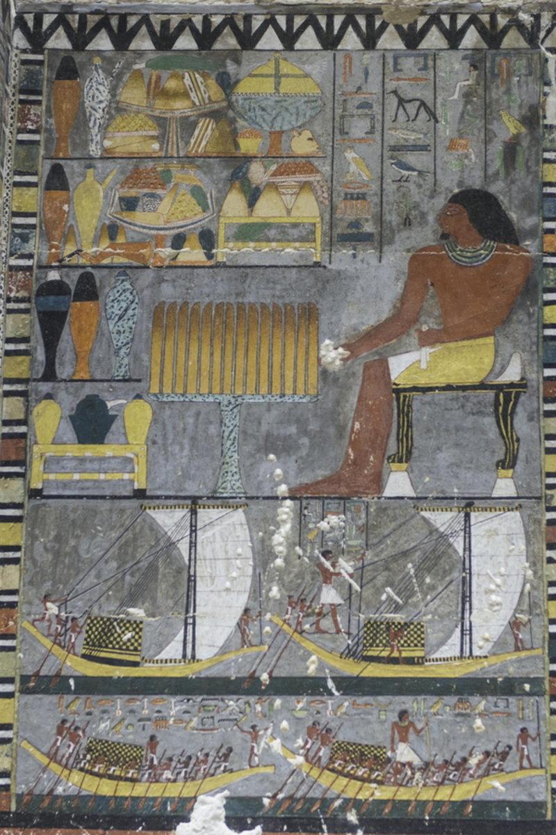Λεπτομέρεια από αιγυπτιακό τάφο