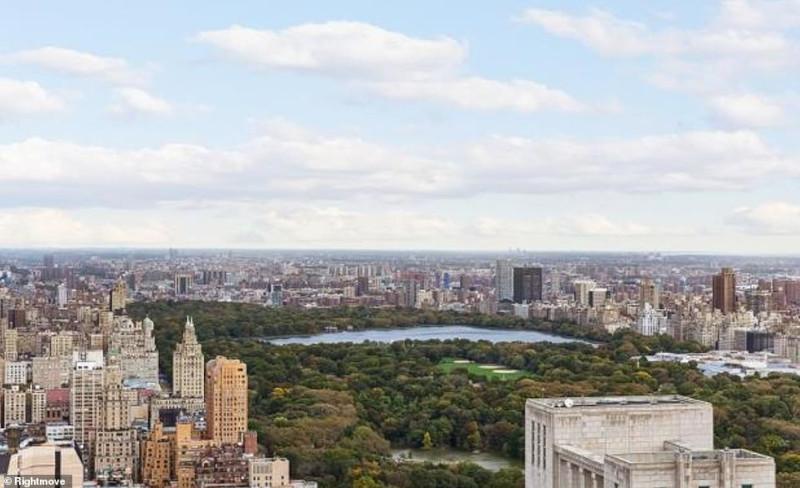 Η μοναδική θέα στο Central Park