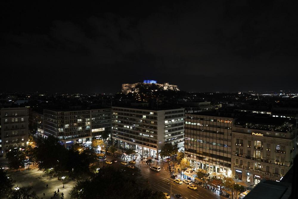 Εικόνα της Ακρόπολης από το Σύνταγμα