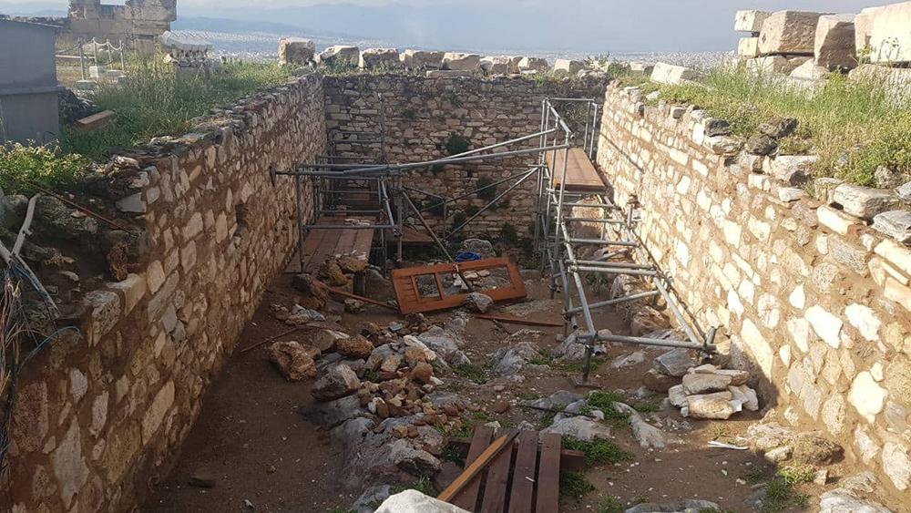 Ζημιές στον αρχαιολογικό χώρο της Ακρόπολης