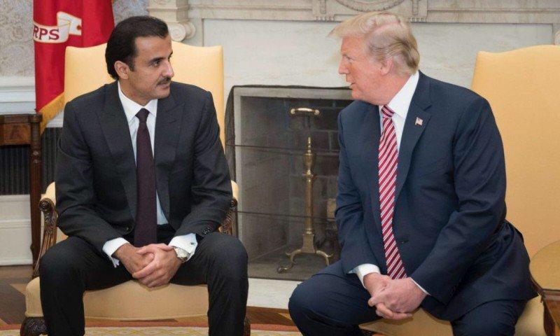 Με τον Donald Trump