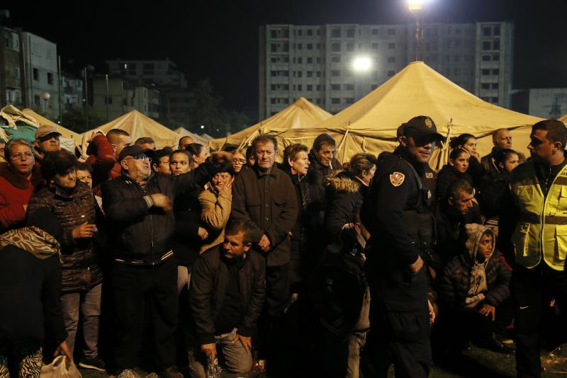 Αλβανία σεισμός
