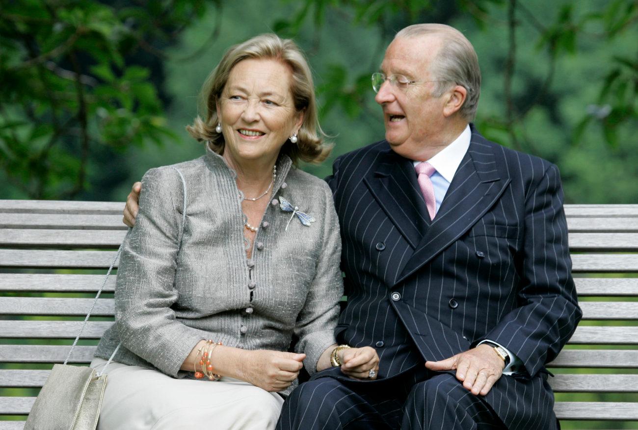 Ο τέως Βασλιάς Αλβέρτος Β' και η βασίλισσα Πάολα σε επίσημη φωτογράφηση του βασιλικού ζεύγους