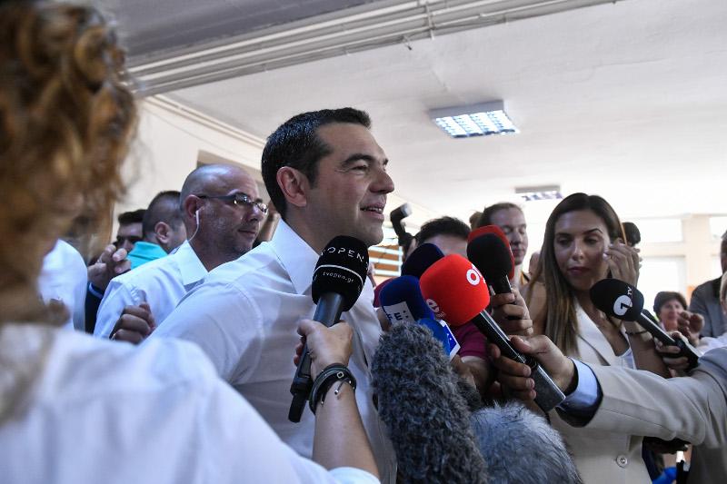 Δηλώσεις του Αλέξη Τσίπρα για τις εθνικές εκλογές 2019
