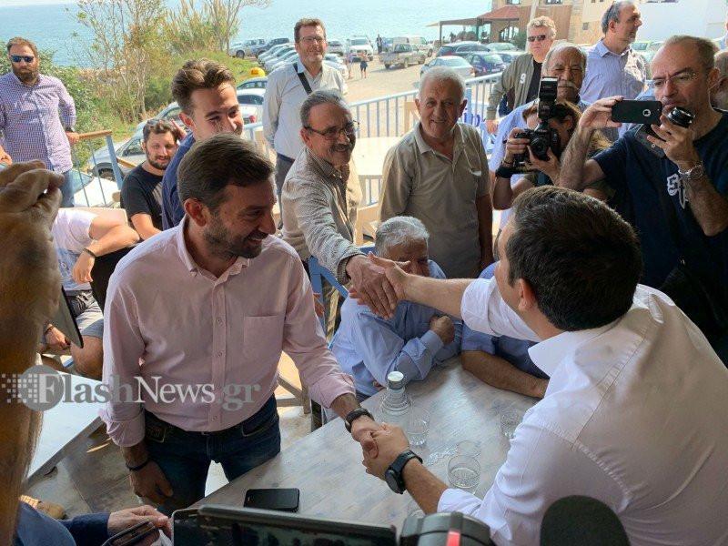 Περιοδεία του προέδρου του ΣΥΡΙΖΑ, Αλέξη Τσίπρα στην Κρήτη