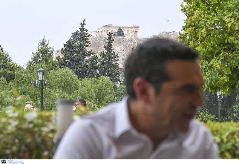 Αλέξης Τσίπρας θέα Ακρόπολη