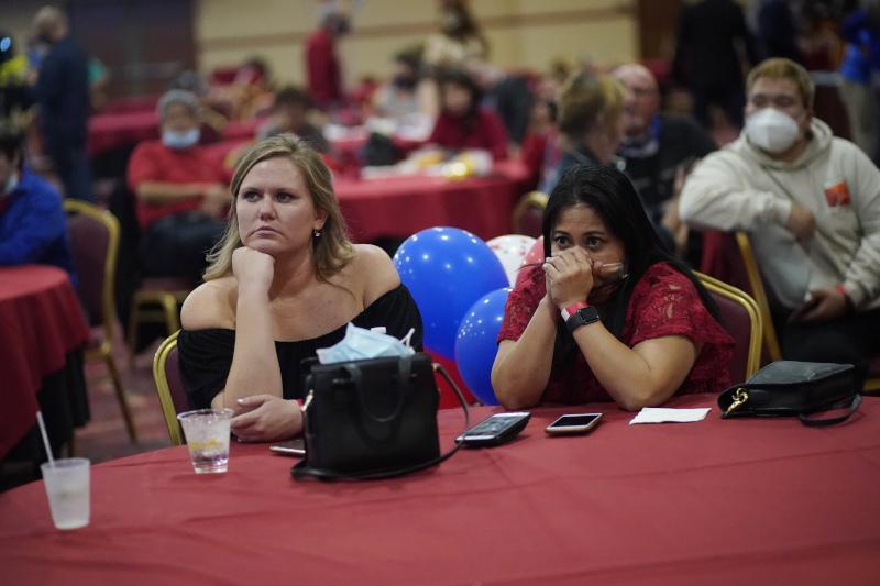 Έκδηλη η αγωνία Αμερικανών ψηφοφόρων για το εκλογικό αποτέλεσμα