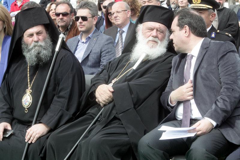 Μητροπολίτης Ιωαννίνων, Αρχιεπίσκοπος Ιερώνυμος και ο Κωστής Δήμτσας συζητούν