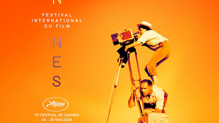 H αφίσα του 72ου Φεστιβάλ Κινηματογράφου των Καννών