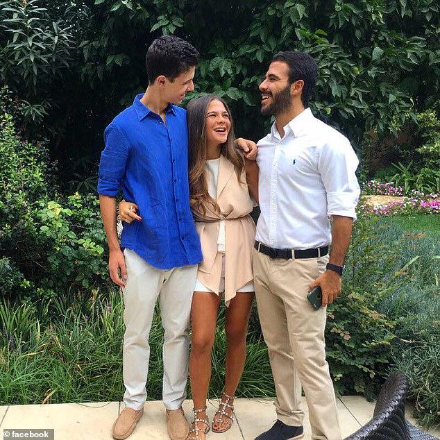 Ανιψιά Ασαντ διασκεδάζει με φίλους
