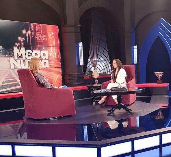 Η Ανθή Βούλγαρη μίλησε για την περιπέτεια της υγείας της στην εκπομπή της Ελεονώρας Μελέτη