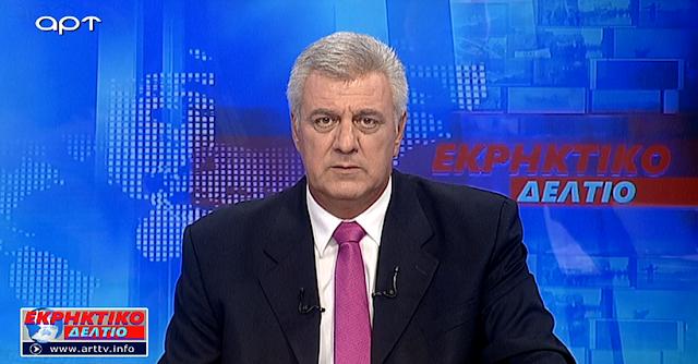 Ο Αντώνης Μυλωνάκης παρουσιαστής ειδήσεων σε περιφερειακούς τηλεοπτικούς σταθμούς