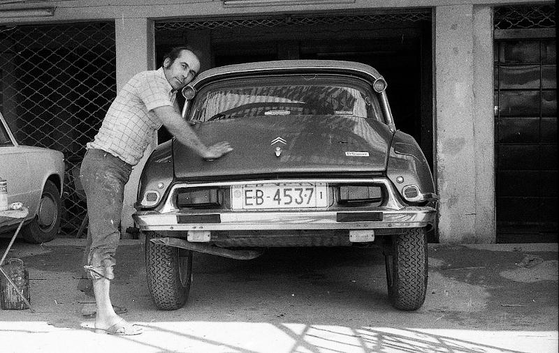 Μοντέλο της Citroen.1975.