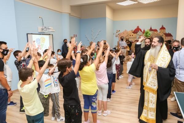 Μέχρι στιγμής,  115 παιδιά έχουν κάνει την εγγραφή τους στο Κ.Δ.Α.Π. «ΑΓΙΟΣ ΕΦΡΑΙΜ»
