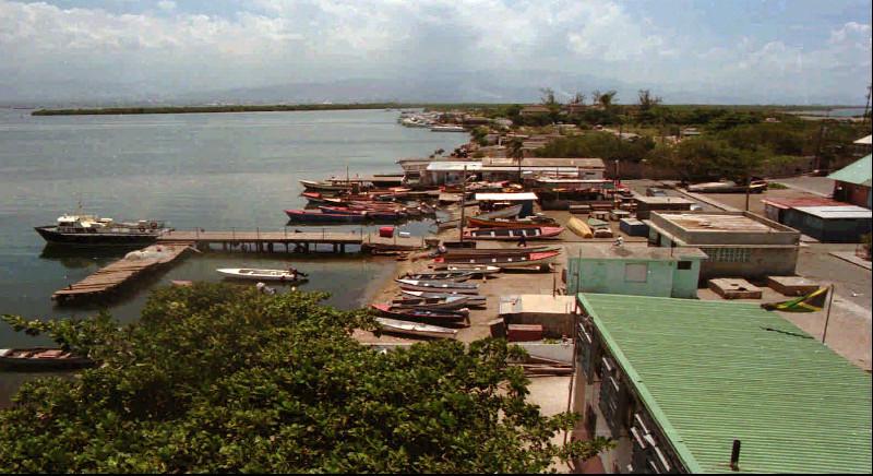 Η αποβάθρα του Port Royal το 1998