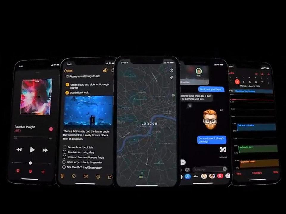 Πάρτε μια ιδέα για τις οθόνες των iPhone με το νέο πρόγραμμα, όταν θα μπορούν να έχουν μαύρο φόντο