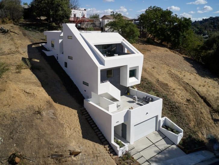 Το ιδιαίτερο σπίτι Slice and Fold House, στο Λος Άντζελες